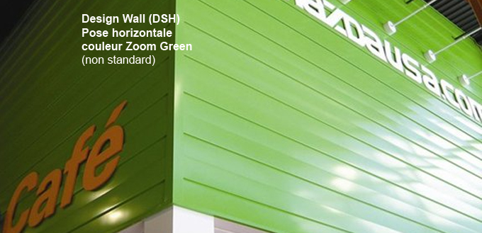 Design Wall (DSH) Hor Zoom Green NS