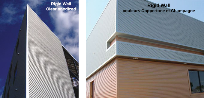 Rigid Wall clear anodized Coppertone Champagne 1